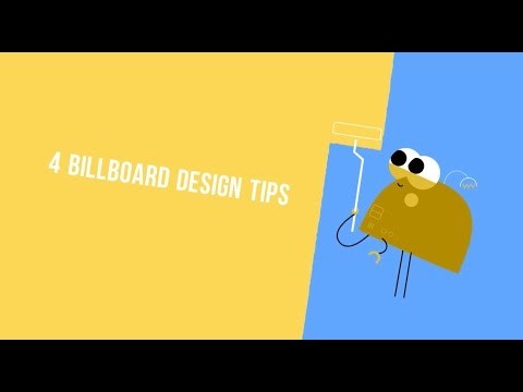 4 Billboard Design Tips