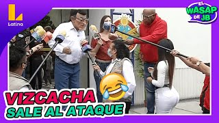 🔴🤣 VIZCACHA sale al ataque en contra del Congreso en plena ronda de prensa - El Wasap de JB