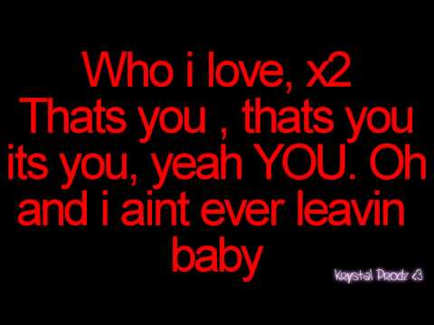 Usher// Make love into the night lyrics on screen!