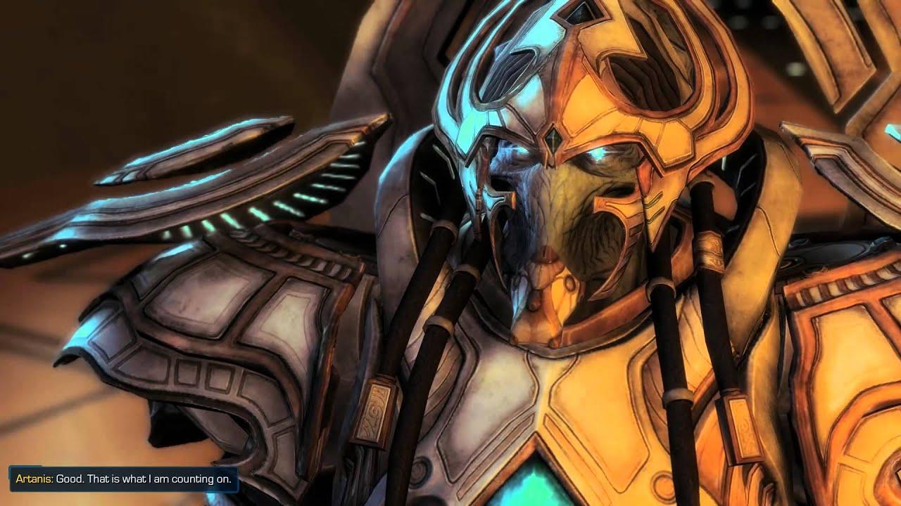 starcraft ii legacy of the void artanis and alarak