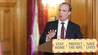 video: Care homes a 'challenge' for the UK, says Dominic Raab