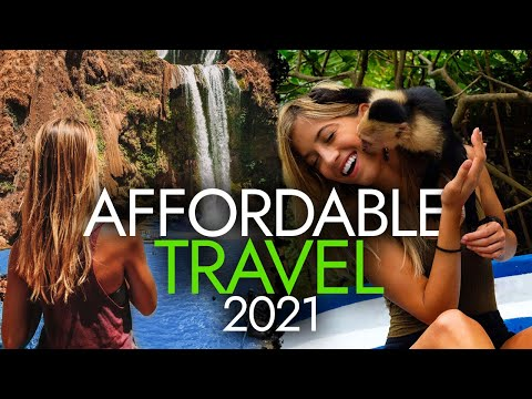 12 SHOCKINGLY AFFORDABLE Destinations for Budget Travel in 2021