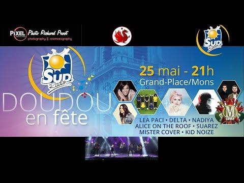 Mons Concert grand place - Ducasse de Mons doudou 2018 4k