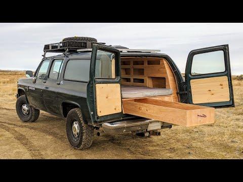 1988 4x4 Chevrolet Suburban Overland Build #overland #4x4camper #overlanding