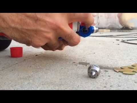 Hvlp spray gun cleaning part 2
