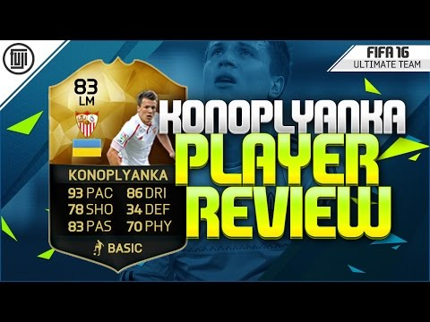 FIFA 16 - IF KONOPLYANKA PLAYER REVIEW (83) - FIFA 16 Ultimate Team