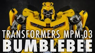 Transformers Masterpiece MPM-3 Bumblebee | REVIEW
