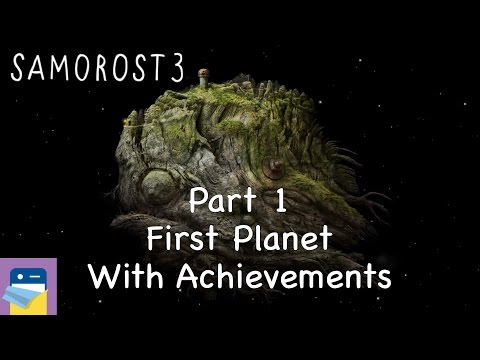 Samorost 3: iOS Walkthrough Guide Part 1 First Planet + All Achievements! (by Amanita Design)