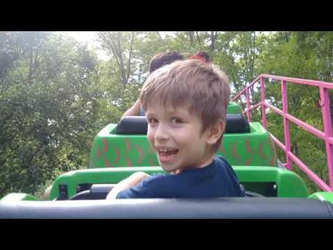 Roller Coaster Ride at Storybook Land