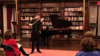 Sibelius Concerto, 1st mvt, by Nathan Meltzer and Jessica Osborne