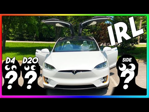 CAR RIDE WITH FRIENDS! | Tesla Model X POV Style + Tesla Autopilot (IRL)