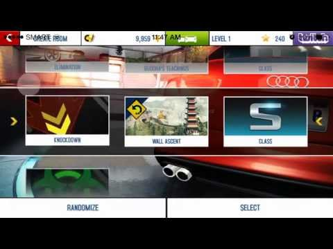 asphalt 8 airborne online create room - YouTube