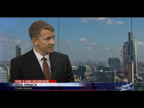 'It's all about the next 5 years for Frontier Services' says chairman Erik Prince