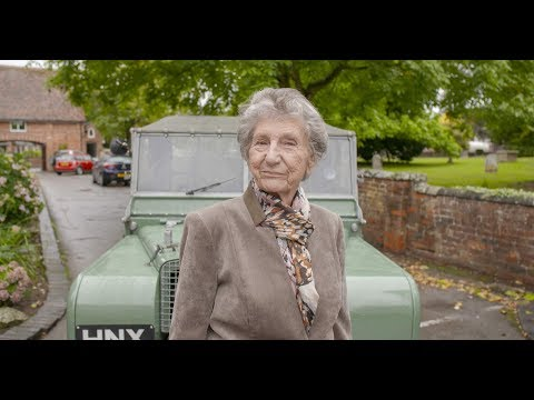Retired Land Rover employee Dorothy re-united with early Series One after 70 years