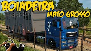 MAN 33-440 NA CARRETA BOIADEIRA - LUGAR PERIGOSO PARA DORMIR MATO  - RONDONOPOLIS - G27!!!!
