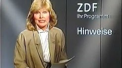 ZDF Programmhinweise Elke Kast 1984