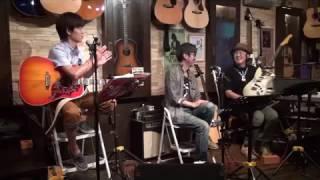 16年9月26日(月)福岡・天神「白いギター」にて♪ チューリップ「心の旅」...