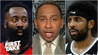 The Rockets trading James Harden for Kyrie Irving would be a bad move - Stephen A. | First Take