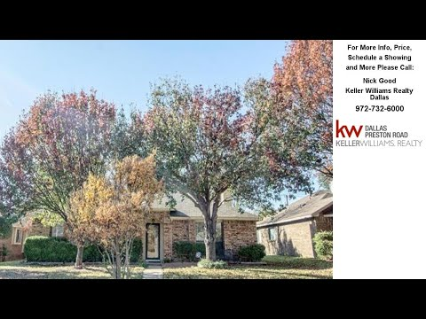 5239 Clover Haven Street, Dallas, TX Presented by Nick Good.