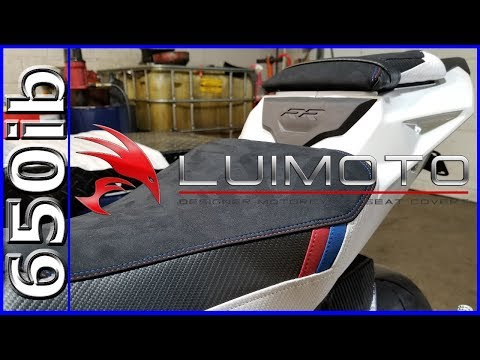 Luimoto Seat Covers & Pit Bull Stands! | 2018 S1000RR