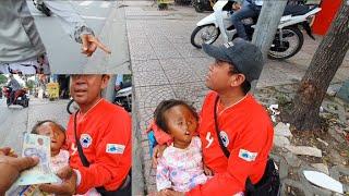 Vợ Chồng Người Campuchia Tiết Lộ Sự Thật Bí Mật Của Bọn Chăn Dắt Bán Vé Số Xin Tiền Giữa Sài Gòn