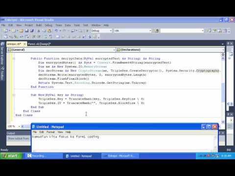 Membuat Aplikasi Tabungan Dengan Vb.net