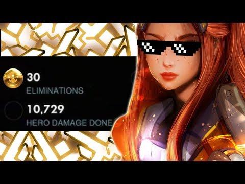 Mickie Pro Brigitte Gameplay! Overwatch League [ SEASON 15 TOP 500 ] thumbnail