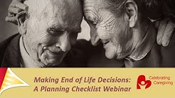 Making End of Life Decisions: A Planning Checklist - Shield HealthCare Webinar