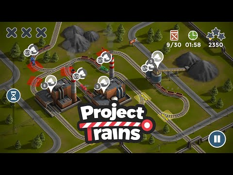 Project Trains: Traffic Control Hardcore Gameplay HD