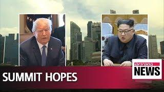 UN chief says he hopes common sense will prevail on North Korea-U.S. summit