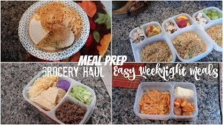 EASY WEEKNIGHT MEALS ON THE GO WITH GROCERY HAUL
