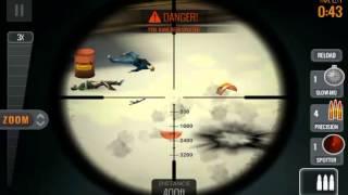 Sniper 3D Assassin Shoot to Kill Gabe's Crossing Warehouse 1 Walkthrough