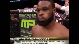 UFC... Tyron Woodley vs Rory MacDonald