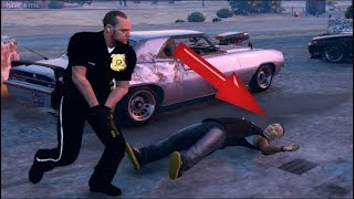 GTA 5 FiveM RP - THATS THE SOUND OF THE POLICE!! Killing Fake Cop | SLAPTrain