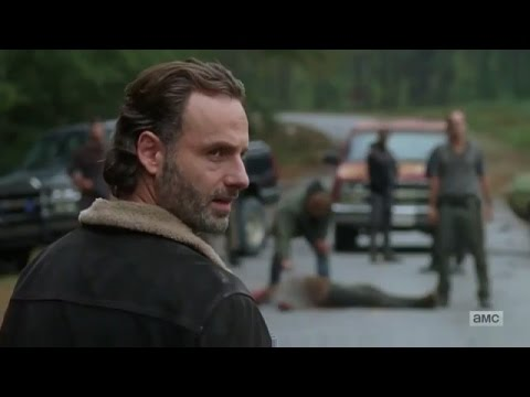 The Walking Dead: Rick Grimes meets Trevor Phillips