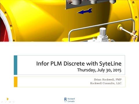 Infor PLM Discrete 10.2 Demo with Interface to SyteLine 8.03