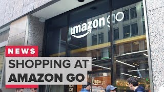From youtube.com: Shopping at Amazon Go in San Francisco {MID-324719}