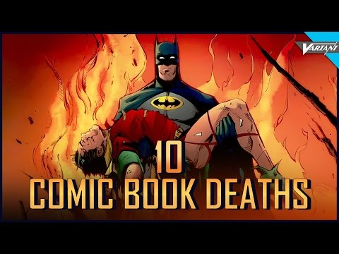 Top 10 Most Important Comic Book Deaths!