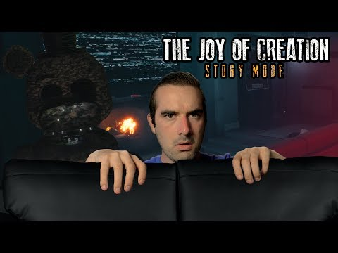 The Joy of Creation Story Mode (TJOC: Living Room Complete) - GOLDEN FREDDY!?