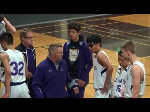 AMADOR VALLEY HS JV BASKETBALL EXHIBITION GAME vs Archbishop Mitty HS