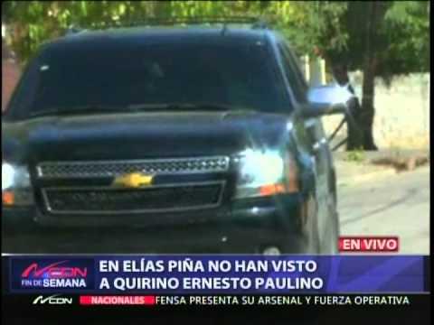 Esperan a Quirino con los brazos abiertos en Elías Piña