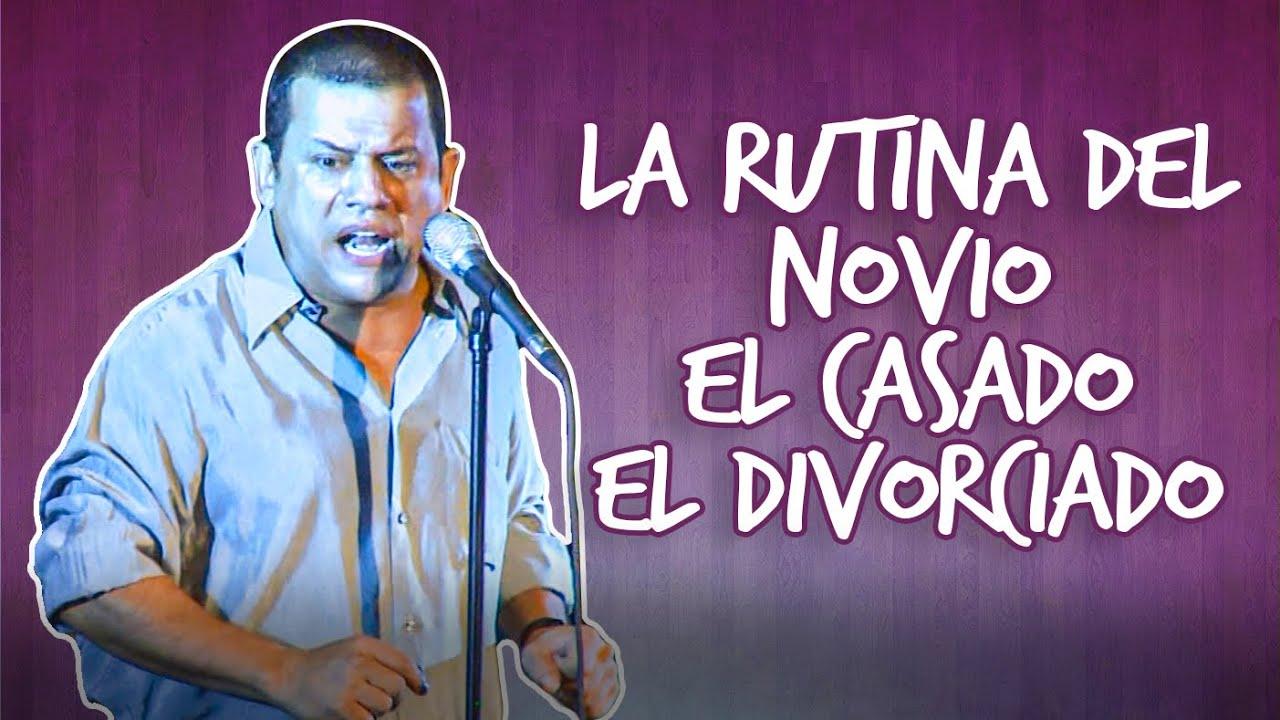 Emilio Lovera En Vivo l La Rutina del Novio, El Casado y El Divorciado