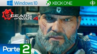 Gears of War 4 Campaña Español Latino Parte 2 Gameplay  - Acto 2 Capitulo 1 y 2 (PC 1080p 60fps)