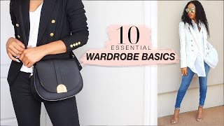 MANGO jeans 10 Essential WARDROBE BASICS for BOMB Outfits!