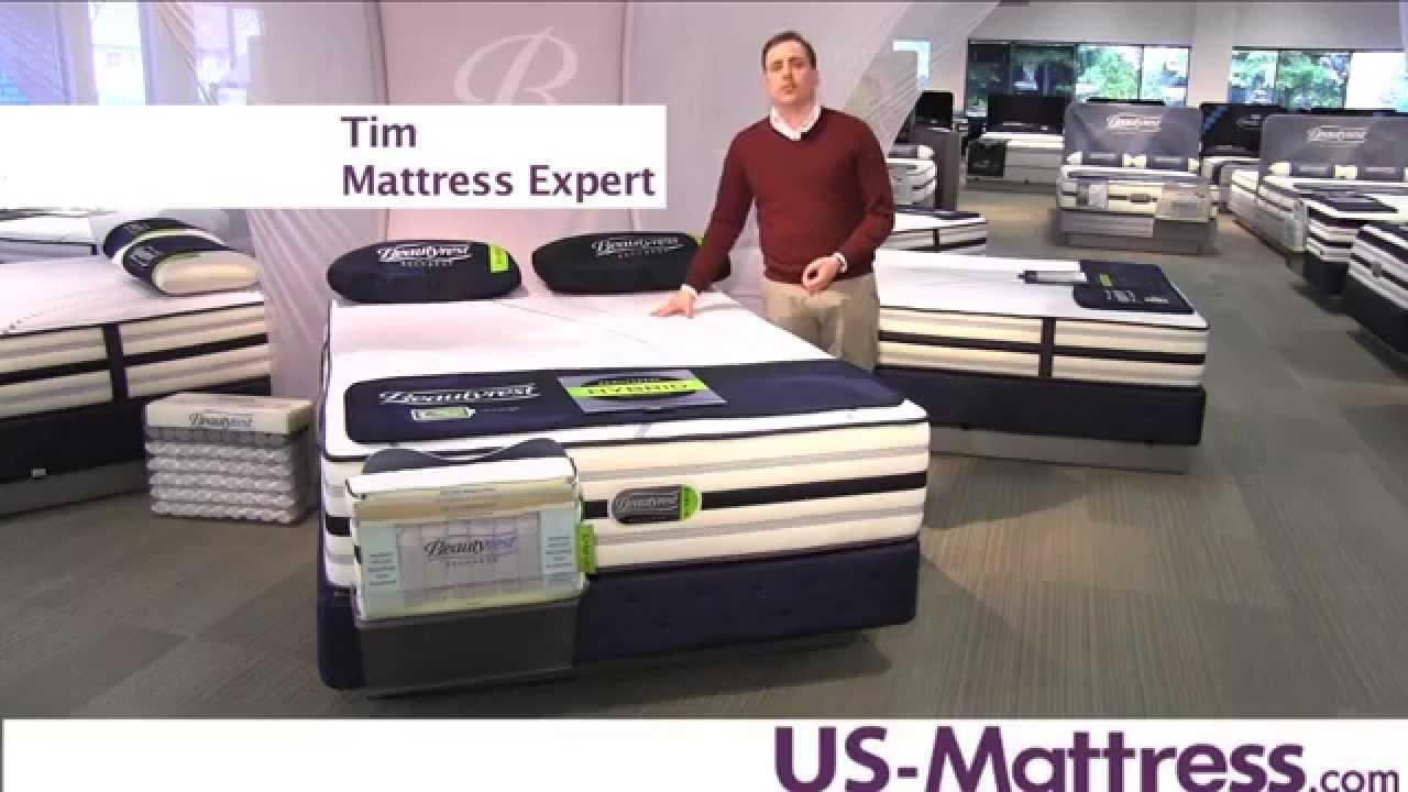 Simmons Beautyrest Recharge Hybrid Valencia Plush Mattress
