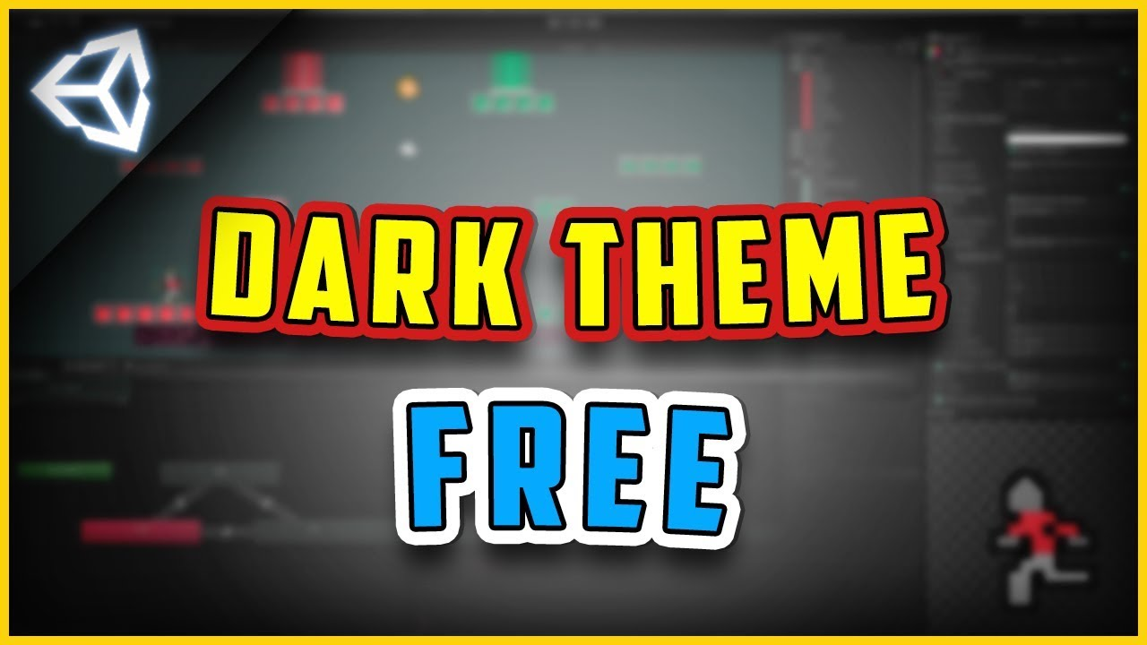 How To Get Unity Dark Theme/Skin For Free [Unity3d 2018 2] For Personal  License tutorial
