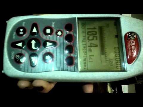 Uso de Sonometro ( estable o impulsivo )