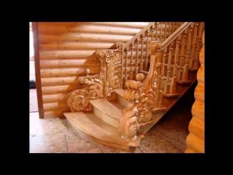 Деревянные лестницы. - Wooden ladders.