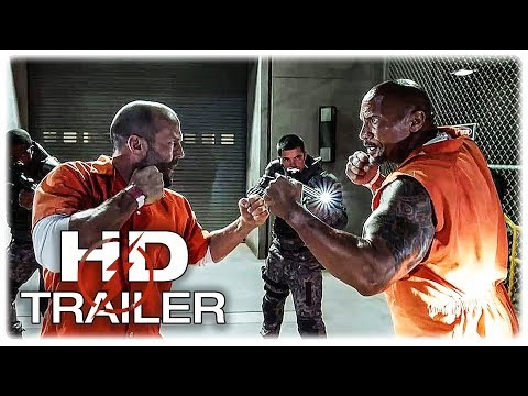 Fast & Furious Spin-Off Movie Trailer Hobbs & Shaw - July 26, 2019