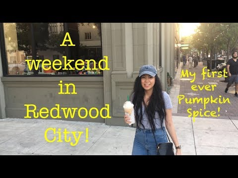 A weekend in Redwood City (My first ever Pumpkin Spice!) | Islandgirlbythebay